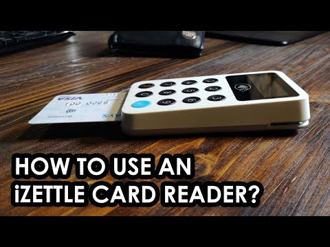 How to use an iZettle credit card reader - in-depth overview