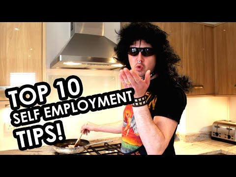 Top 10 self employment tips!