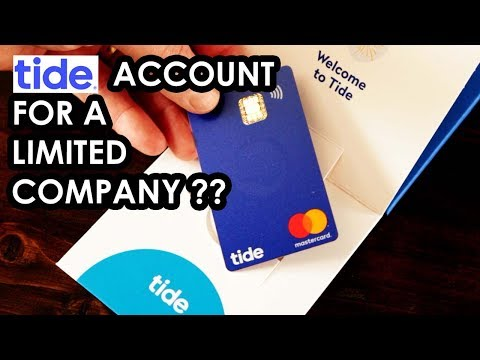 Limited Company Bank Account? Opening a Tide account in 10 mins!