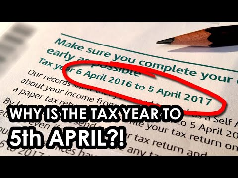 WHY does the UK tax year start on 6th APRIL?!?