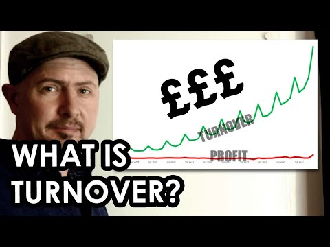 What is TURNOVER? Self employed and small business basics