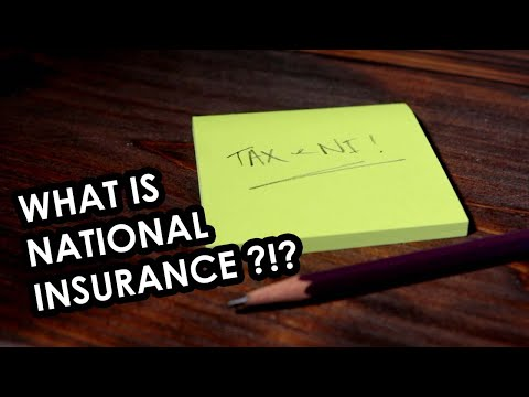 National Insurance explained for self employed folk in the UK