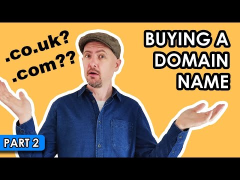 How to register a DOMAIN NAME for your UK business? (part 2)