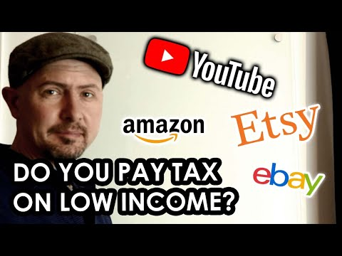 Do you pay tax on SMALL EARNINGS from self employment in the UK? (YouTube, Ebay, Etsy etc.)