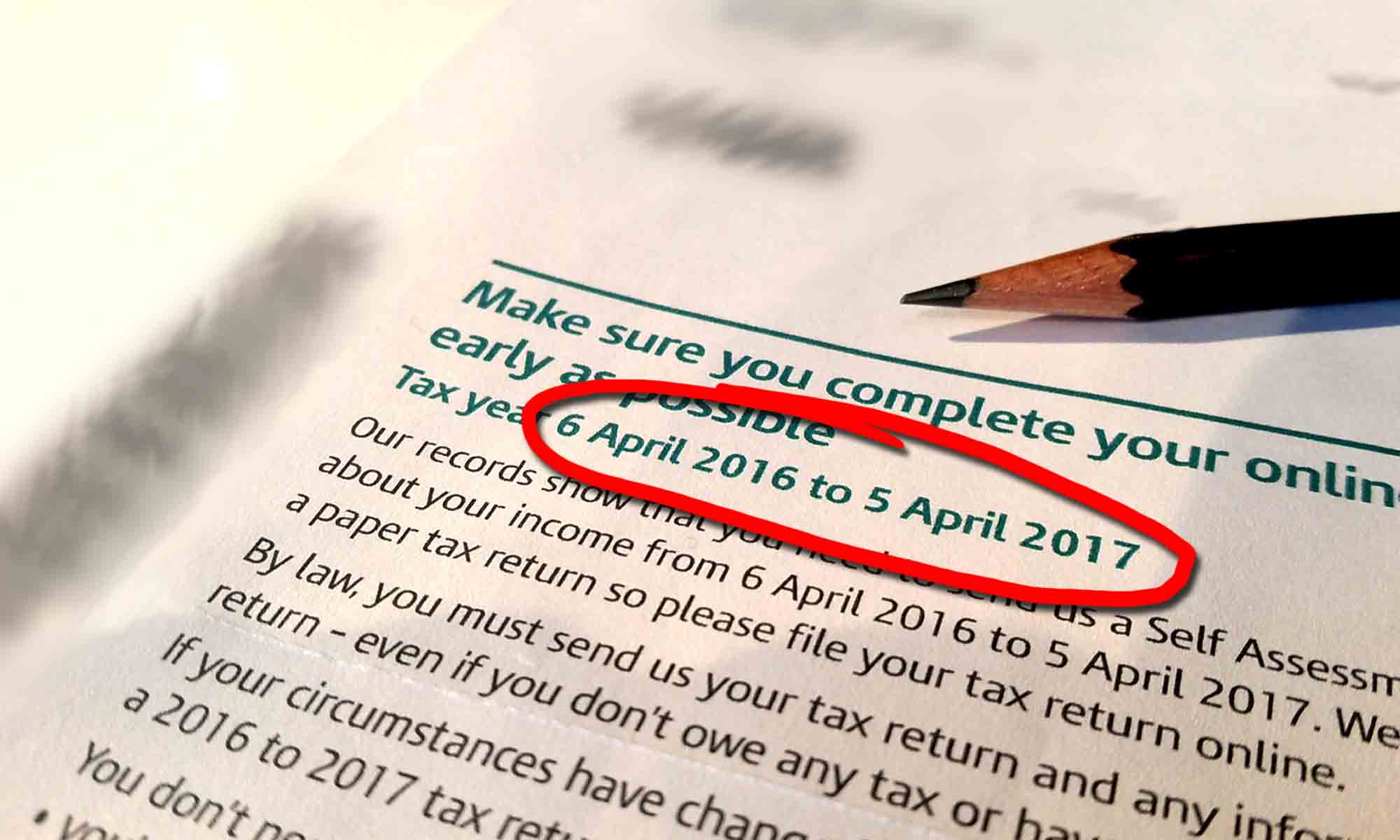 UK Tax Year