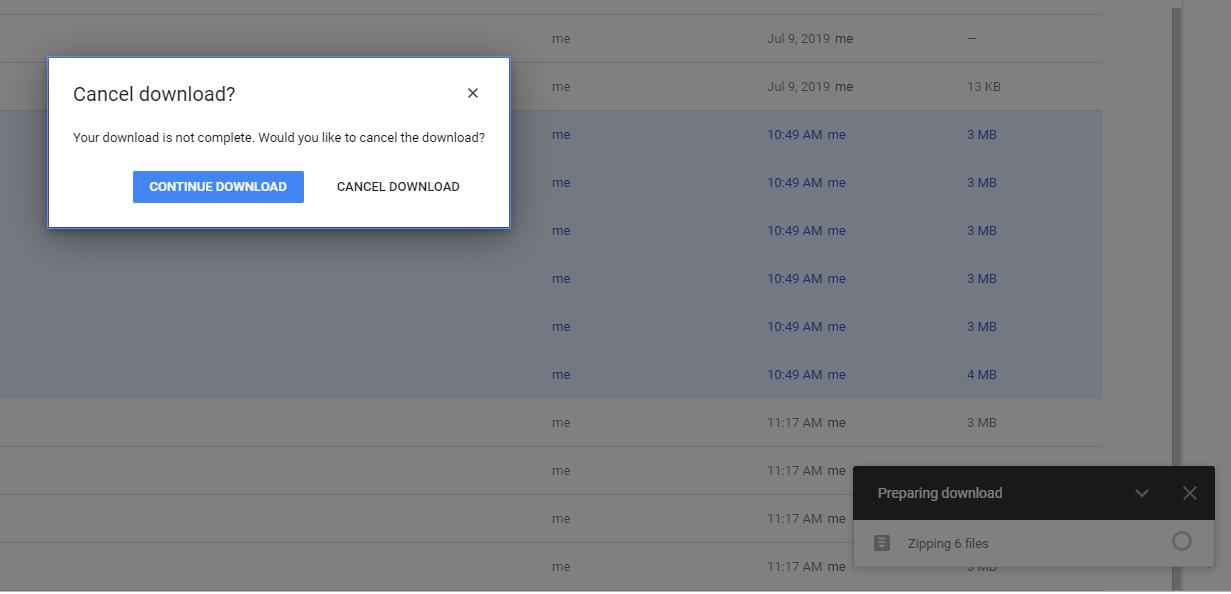 Google Drive running Slow
