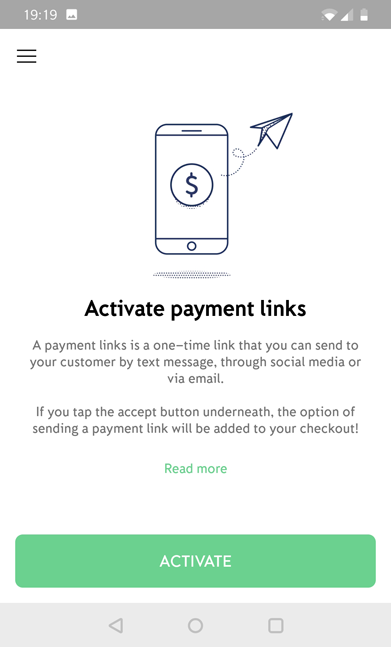 iZettle Payment Links