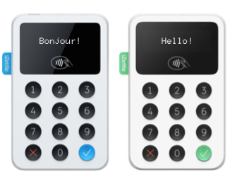 iZettle Card Reader Types