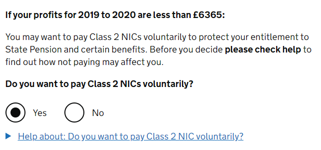 How to pay voluntary national insurance