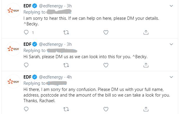 EDF Energy on Twitter