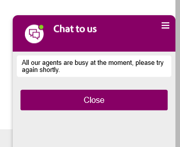 Chat systems are often offline