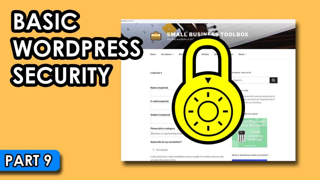 Basic WordPress Security