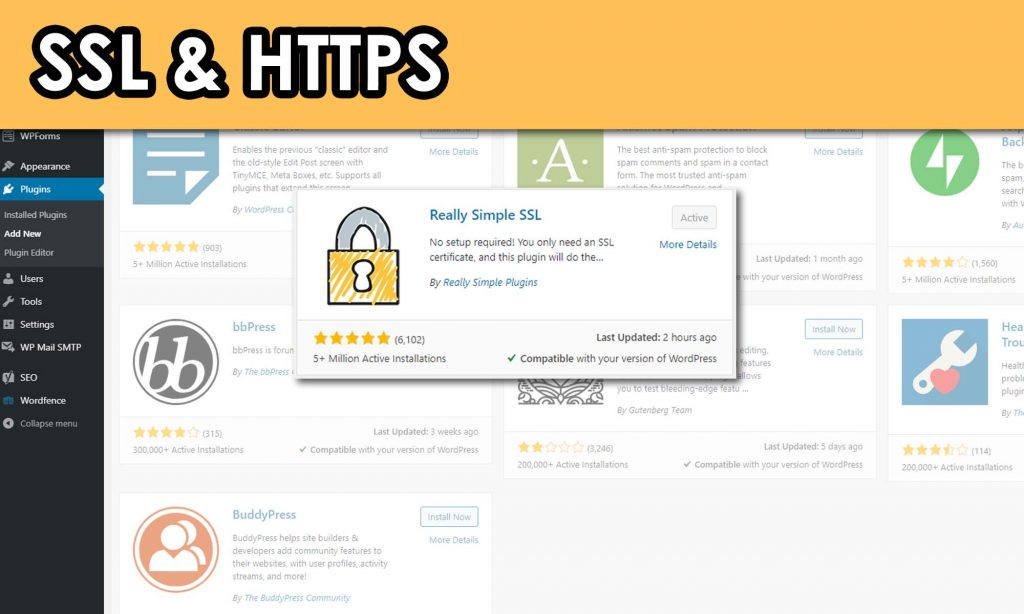 WordPress SSL and HTTPS Plugin