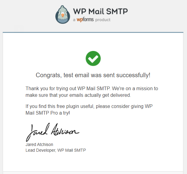 How to configure the WP Mail SMTP plugin